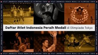 INFOGRAFIS: Atlet Indonesia Peraih Medali di Olimpiade Tokyo