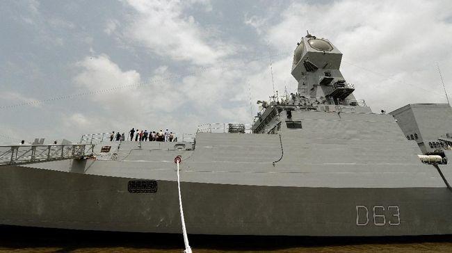India bakal mengirim empat kapal perang ke Laut China Selatan untuk mengikuti latihan perang dengan AS, Jepang dan Australia.