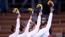 FOTO: Melihat Makna Buket Bunga dan Maskot Olimpiade Tokyo