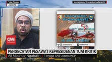 VIDEO: Istana Bantah Foya Foya Cat Ulang Pesawat Kepresidenan
