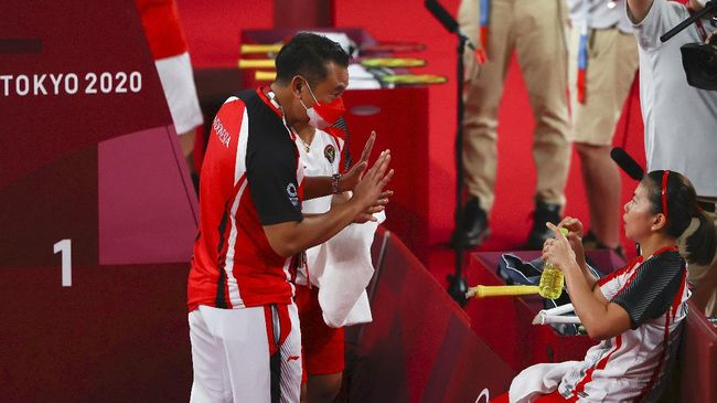 Eng Hian sukses mengantarkan Greysia Polii/Apriyani Rahayu meraih medali emas badminton Olimpiade Tokyo 2020.