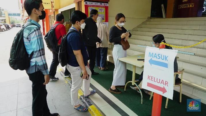 ジャカルタのモール訪問者は予防接種を受ける必要あり(DKI州知事は新しい規則に署名!) PPKM | ワクチン