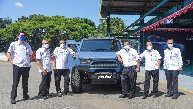 PT Pindad merilis kendaraan baru bernama MV2 4x4 yang terlihat seperti versi sipil dari kendaraan taktis Maung.