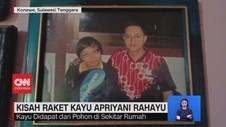 VIDEO: Kisah Raket Kayu Apriyani Rahayu