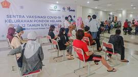 Sentra Vaksinasi Sarana Jaya di Jaktim Jangkau 10 Ribu Orang