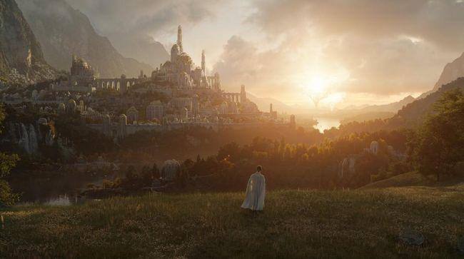 Amazon Prime mengunggah foto penampakan perdana serial The Lord of The Rings.