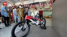 VIDEO: Sepeda BMX Buatan Gresik Berlaga di Olimpiade Tokyo