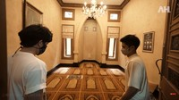 <p>Membangun rumah yang sangat megah, ayah Alshad Ahmad tak melupakan tempat ibadah. Ia merancang mushalla yang cukup luas dan mewah sebagai tempat keluarganya beribadah. (Foto: YouTube AH)</p>