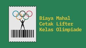 INFOGRAFIS: Biaya Mahal Cetak Lifter Kelas Olimpiade