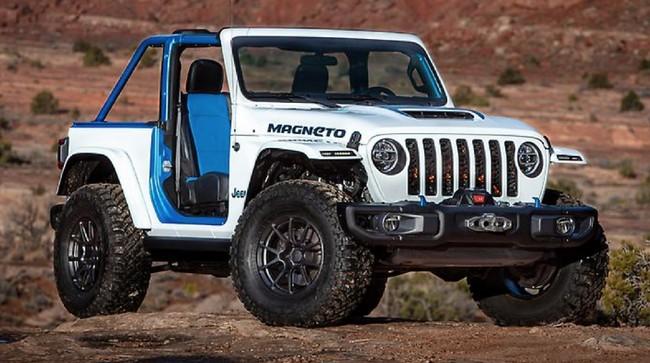 Bocoran Mobil Listrik Pertama Jeep Meluncur 2023