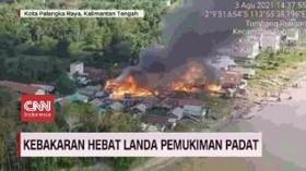 VIDEO: Kebakaran Landa Sejumlah Daerah