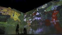 FOTO: Menikmati Mahakarya Gustav Klimt Secara 360 Derajat