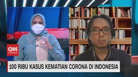 VIDEO: 100 Ribu Kasus Kematian Covid-19 di Indonesia