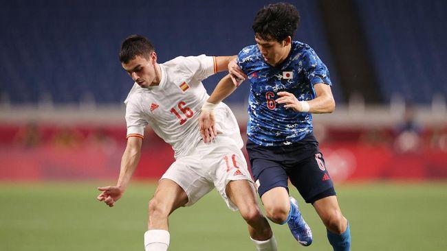 Pedri Gonzalez menyamai rekor bintang Manchester United Bruno Fernandes usai membawa Spanyol ke final sepak bola Olimpiade Tokyo.