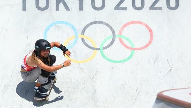 Skateboard Olimpiade Jadi Ajang Aksi Atlet 12 Hingga 46 Tahun