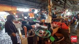 Pedagang dan Pembeli di Pasar Minggu Tolak Vaksin Jadi Syarat