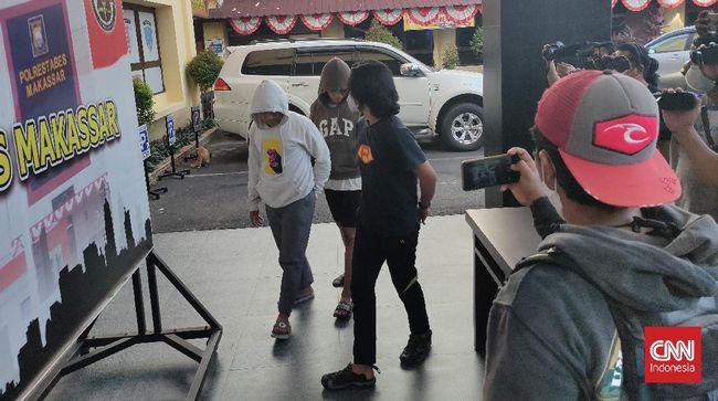 Kasus pertarungan jalanan atau street fighting di Makassar menjerat 2 petarung dan 6 penonton sebagai tersangka.