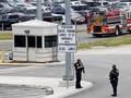 FOTO: Pentagon Mencekam usai Polisi Tewas Diduga Ditikam
