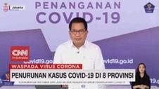 VIDEO: Penurunan Kasus Covid-19 di 8 Provinsi