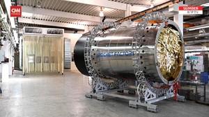 VIDEO: Roket Mini Buatan Jerman Pesaing SpaceX-Blue Origin