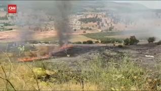 VIDEO: Dua Roket dari Libanon Hantam Israel