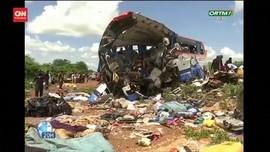 VIDEO: 41 Orang Tewas Akibat Tabrakan Truk dan Bus di Mali