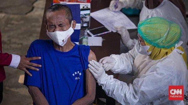 Vaksinasi untuk kalangan warga belum memiliki NIK diambil dalam rangka percepatan pelaksanaan vaksinasi Covid-19.
