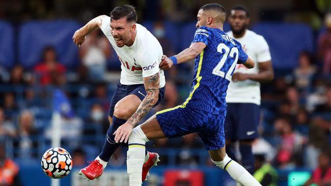 Chelsea ditahan imbang 2-2 oleh Tottenham Hotspur pada laga uji coba pramusim di Stadion Stamford Brdige, Rabu (4/8) waktu setempat.