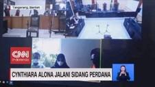 VIDEO: Cynthiara Alona Jalani SIdang Perdana