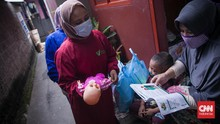 FOTO: Edukasi Busui Penyintas Covid untuk Beri ASI Eksklusif