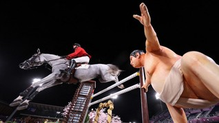 Patung Sumo Bikin Kuda Atlet Israel Takut di Olimpiade Tokyo