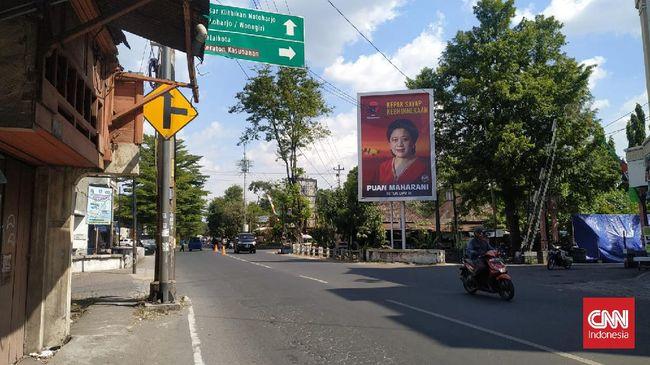 Gibran Rakabuming mengakui ada instruksi dari partai untuk memasang baliho Puan di wilayahnya, namun ia enggan menyebutkan jumlahnya.