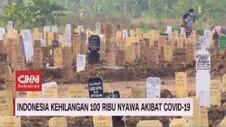 VIDEO: Indonesia Kehilangan 100 Ribu Nyawa Akibat Covid-19