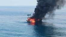 KM United Terbakar di Perairan Pulau Berhala Sumut, Dua Tewas