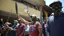 FOTO: Milisi Warga Meksiko Menolak Tunduk dari Kartel Narkoba