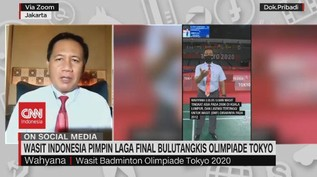VIDEO: Wasit Indonesia di Laga Final Bulu Tangkis Olimpiade