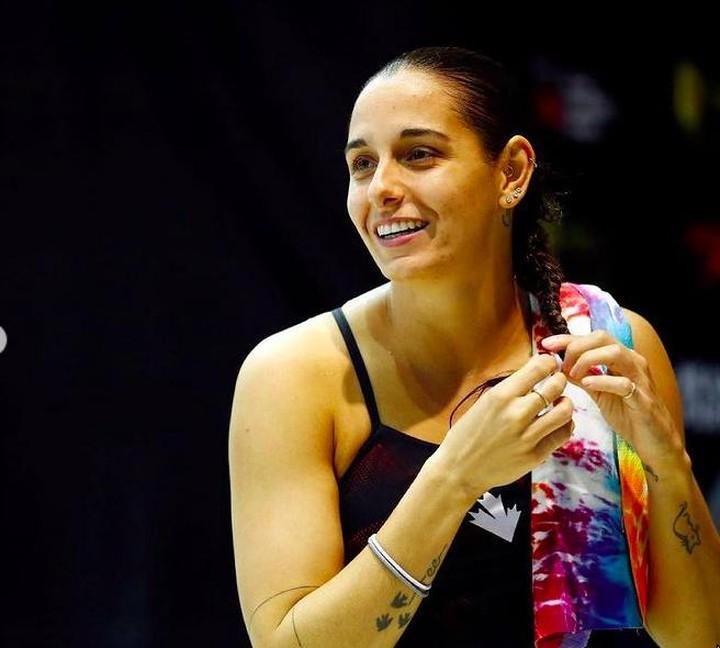 Pamela Ware, atlet loncat indah Kanada