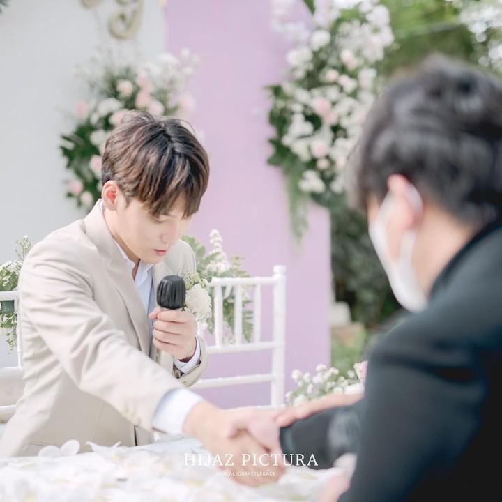 Pernikahan Daehoon dan Julia Prastini