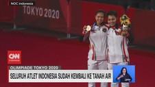 VIDEO: Seluruh Atlet Indonesia Sudah Kembali ke Tanah Air