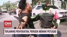 VIDEO: Terjaring Razia, Pemuda Memaki Petugas