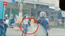 VIDEO: Pelaku Pemalakan Supir Angkot Palembang Ditangkap
