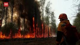 VIDEO: Ahli Takut Kebakaran Hutan Lelehkan Lapisan Es Siberia