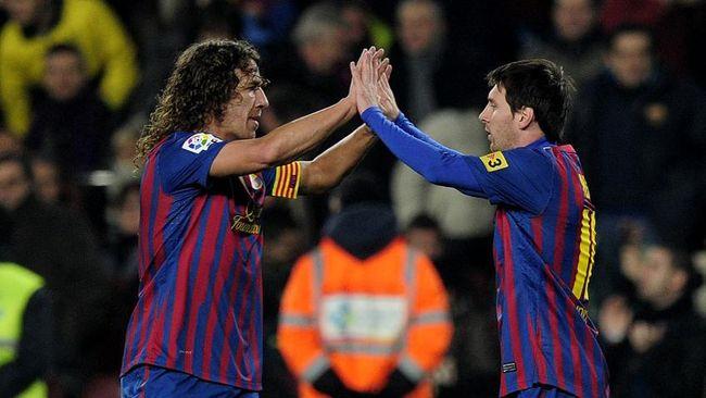 Legenda Barcelona Carles Puyol mengirimkan pesan menyentuh setelah Lionel Messi meninggalkan Blaugrana pada Jumat (6/8) waktu Indonesia.