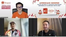 CdM Kontingen Indonesia Sebut Apresiasi dari Shopee Berbeda