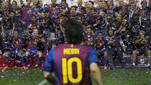 FOTO: Sampai Jumpa, Lionel Messi