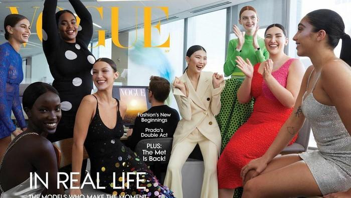 Lawan Body Shaming di Industri Fashion, Vogue Tampilkan 2 Model Plus Size di Cover