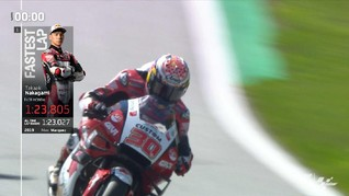 VIDEO: Nakagami Tercepat Hari Pertama MotoGP Styria