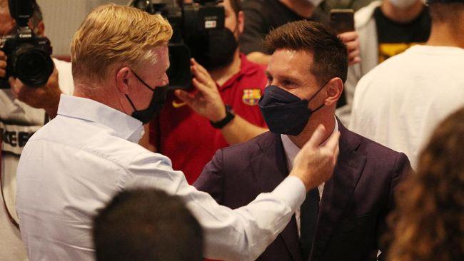 Pelatih Barcelona Ronald Koeman menceritakan momen Lionel Messi pernah marah selama satu minggu semasa berkostum Blaugrana.
