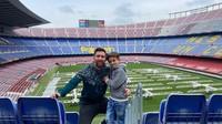 <p>Lionel Messi turut menularkan kecintaannya terhadap sepakbola kepada ketiga anak laki-lakinya. Mereka sudah dikenalkan dengan dunia olahraga sejak masih kecil. (Foto: Instagram @leomessi)</p>