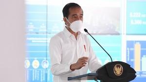 Jokowi Resmikan Pabrik Sawit Milik Pengusaha Kalsel Haji Isam